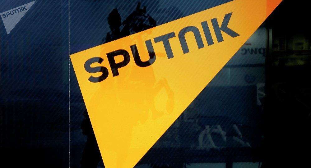 Logo de la agencia de noticias Sputnik