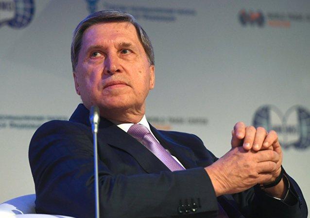 Yuri Ushakov, asesor del presidente de Rusia para asuntos internacionales