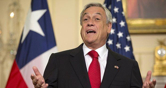 Sebastián Piñera, candidato a la presidencia y exmandatario chileno