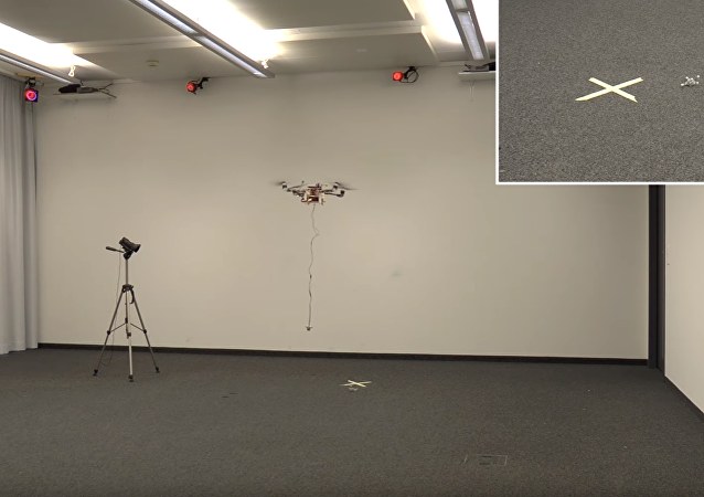 Los ensayos del 'bisabuelo' de los drones de carga