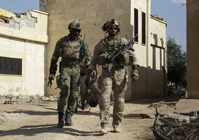 Soldados estadounidenses en Siria (archivo)