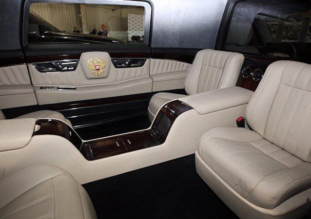 Un modelo de automovil para altos dirigentes rusos