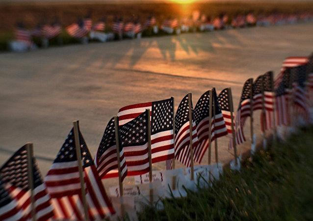 Festejo del día de la independencia de EEUU (archivo)
