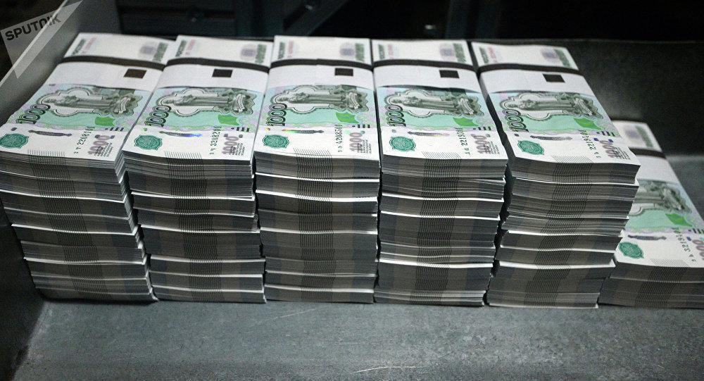 Rublos, moneda rusa (imagen referencial)