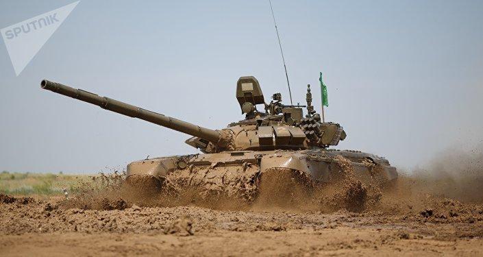 Tanque modernizado ruso T-72B3