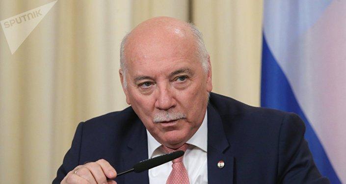 Eladio Loizaga Caballero, canciller paraguayo