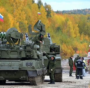 Feria militar internacional Russia Arms Expo 2013