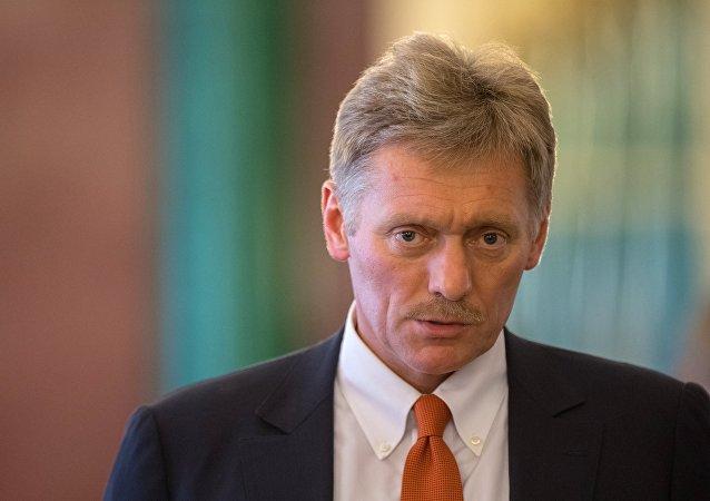 Dmitri Peskov, portavoz del presidente de Rusia, Vladímir Putin