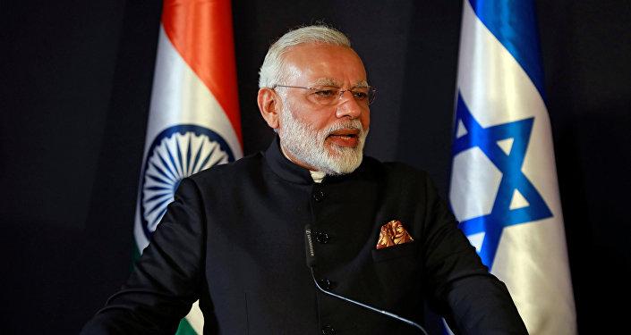 El primer ministro indio Narendra Modi