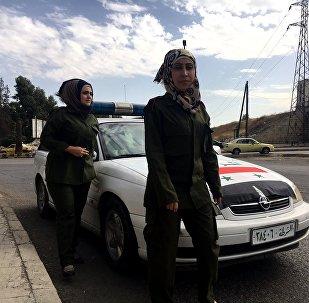 El nuevo y exigente entrenamiento de la Policía siria (vídeo)