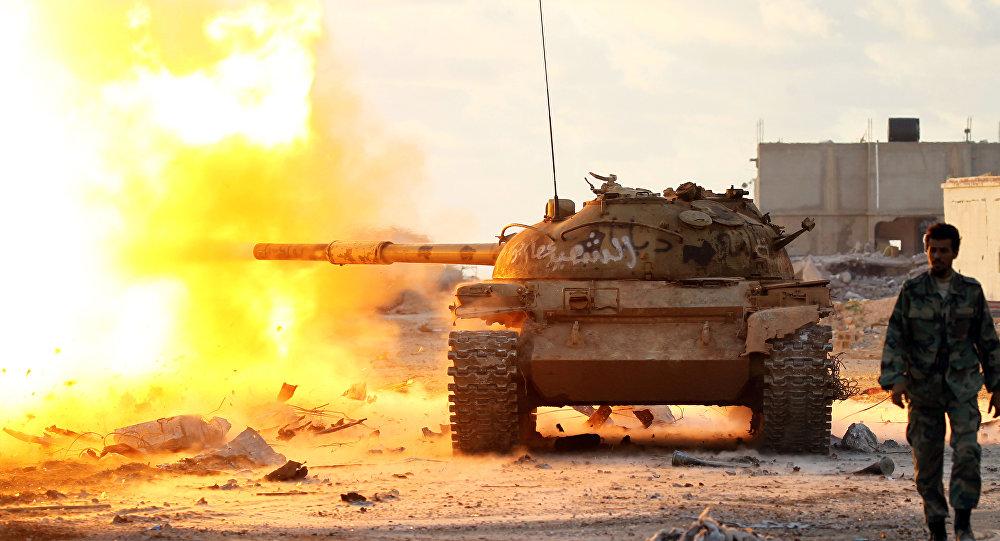 La verdadera causa por la que Libia se encuentra \