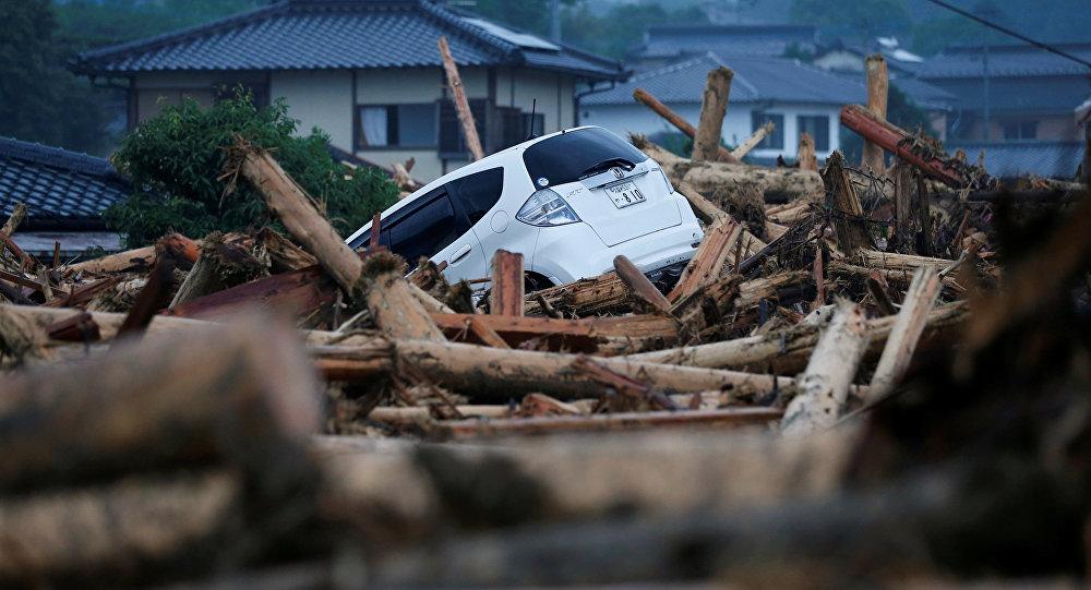Lluvias torrenciales azotan el suroeste de Japón