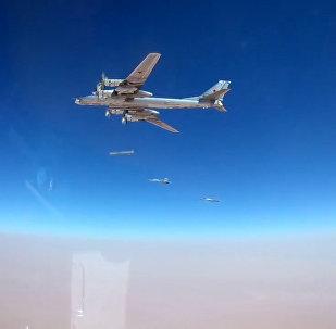 Así destruyen los bombarderos rusos Tu-95MS las posiciones terroristas