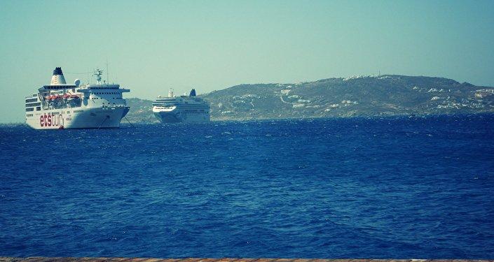 Cruceros en Mykonos, Grecia