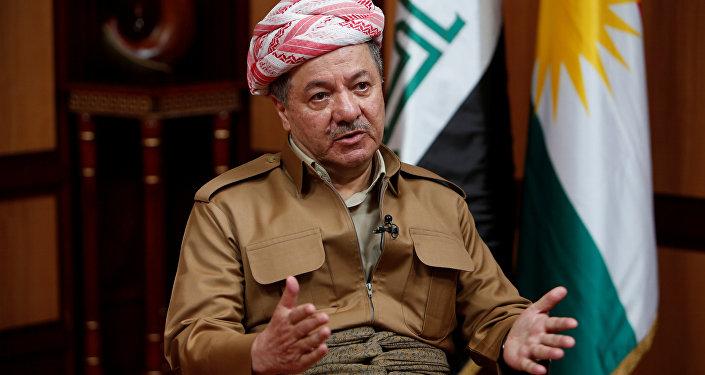 Masud Barzani, presidente del Kurdistán iraquí (archivo)