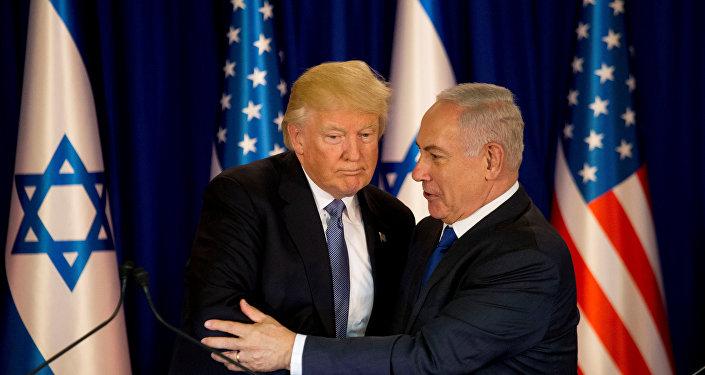 El presidente de EEUU, Donald Trump, y el primer ministro de Israel, Benjamin Netanyahu (archivo)