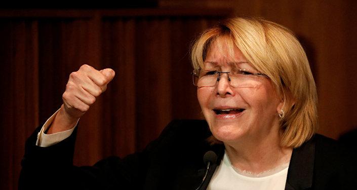 Luisa Ortega, exfiscal General de Venezuela (archivo)