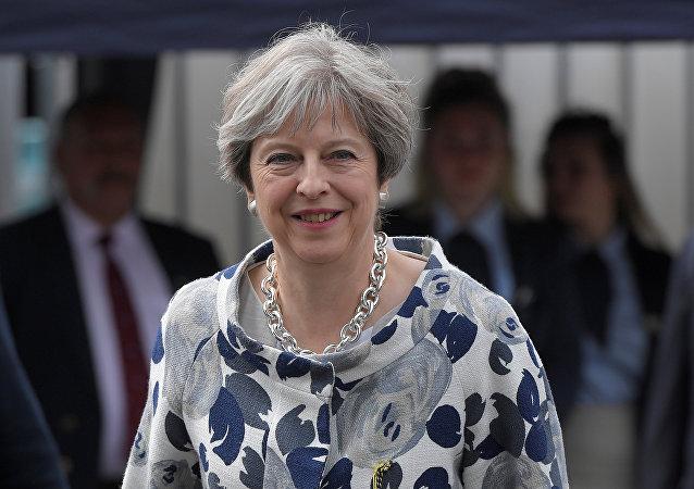 Theresa May, primera ministra de el Reino Unido (archivo)