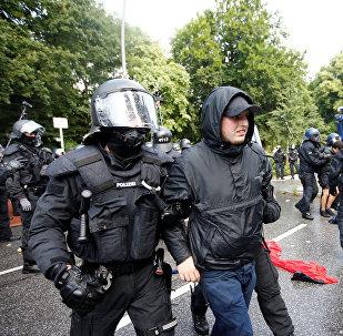 Protestas en Hamburgo (archivo)