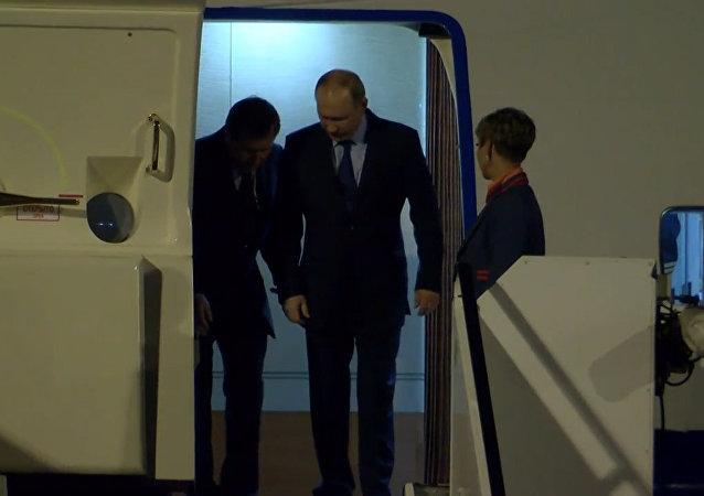 Cumbre del G20: Putin aterriza en Hamburgo
