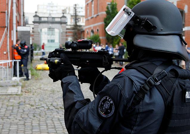 Operación antiterrorista en Europa (imagen referencial)