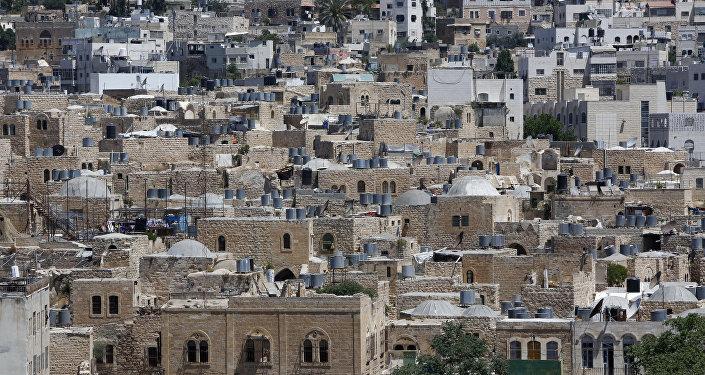 Antigua ciudad palestina de Hebrón