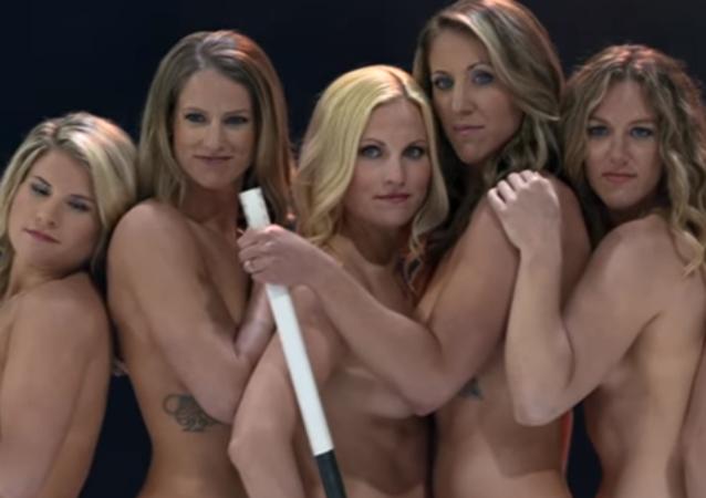 Las jugadoras de hockey de la selección de EEUU
