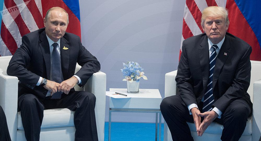 Vladímir Putin, presidente de Rusia, y su homólogo norteamericano, Donald Trump (archivo)