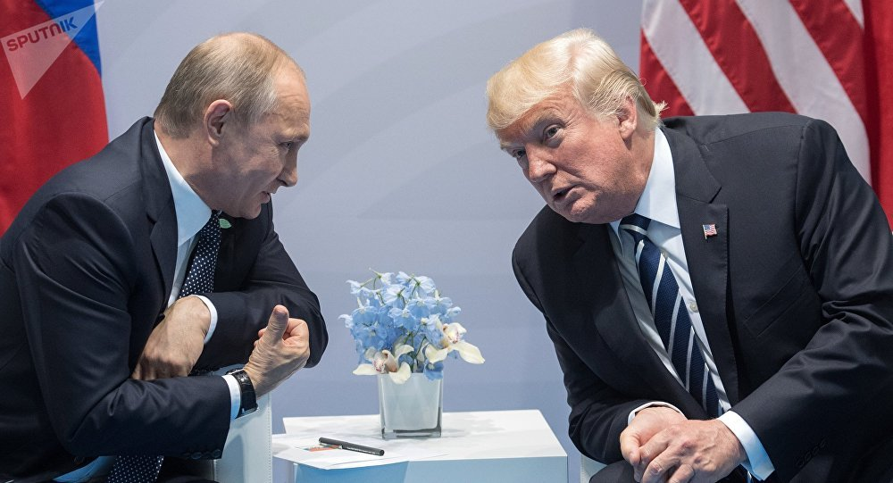 Image result for Presidentes Donald Trump y Vladimir Putin, juntos
