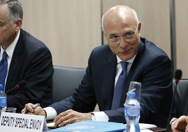 Ramzy Ezzeldin Ramzy, enviado especial adjunto de la ONU para Siria