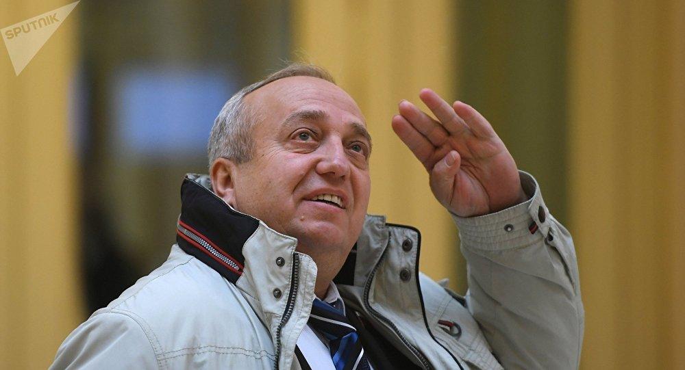 El vice presidente primero del Comité de Defensa y Seguridad del Senado ruso, Frants Klintsévich.