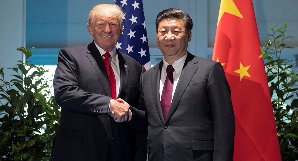 Donald Trump, presidente de EEUU, y Xi Jin Ping, presidente de China (archivo)