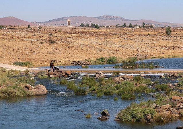 La provincia de Al Quneitra, Siria (imagen referencial)