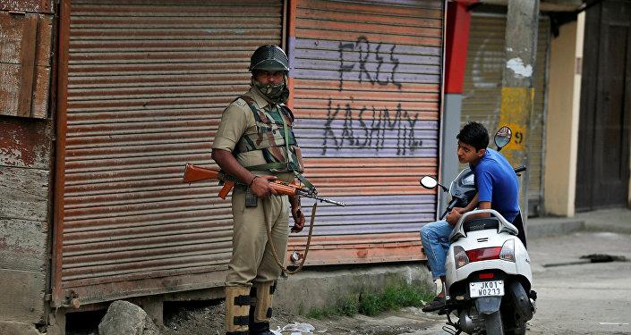 Situación en Jammu y Cachemira, India