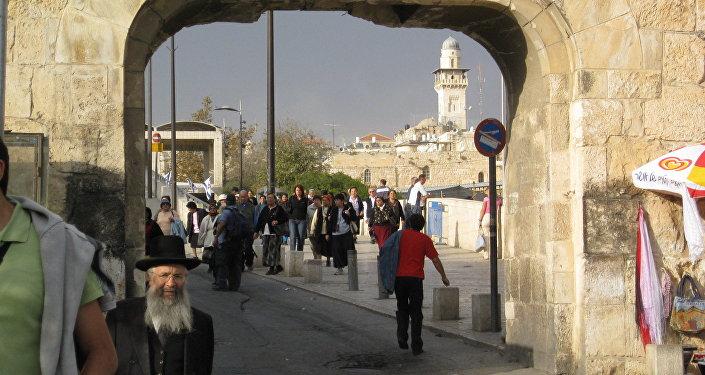 La Puerta de la Basura, Jerusalén, Israel