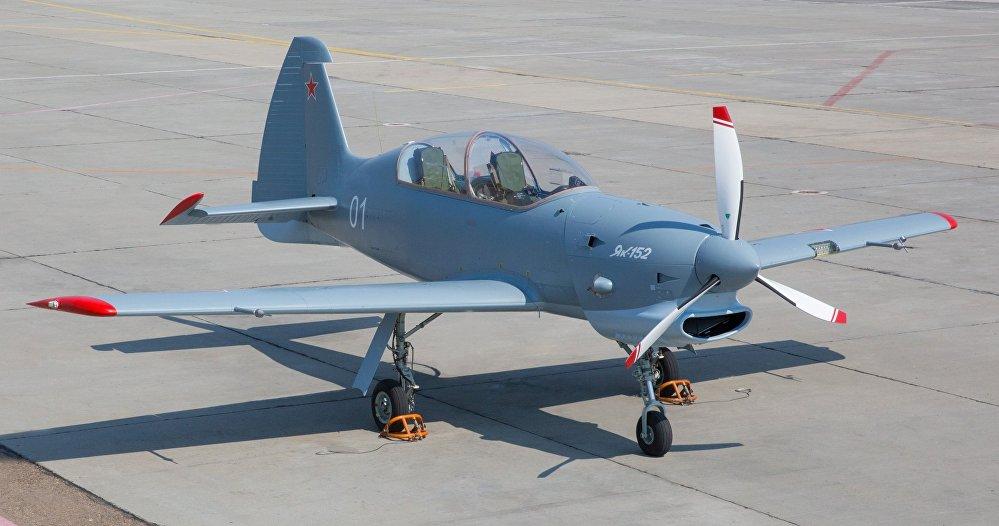 El Yak-152, avión biplaza de entrenamiento militar