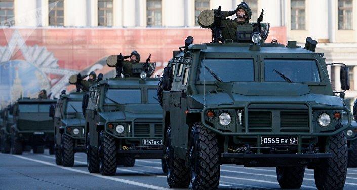 Vehículo blindado Tigr-M (archivo)