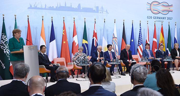 Cumbre del G20 en Hamburgo, Alemania