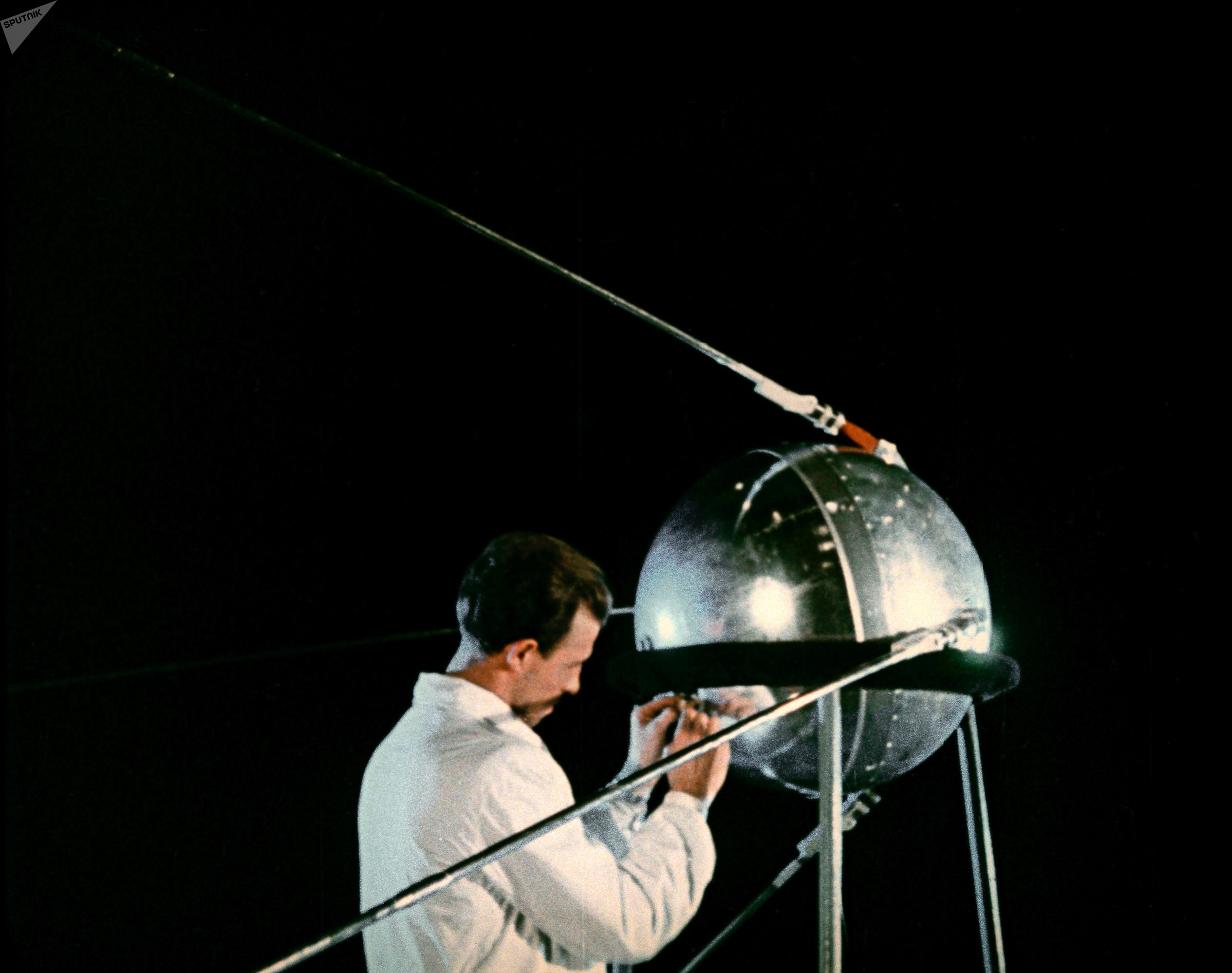 El Sputnik-1, el primer satélite artificial del mundo