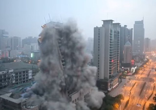 Demolición en China