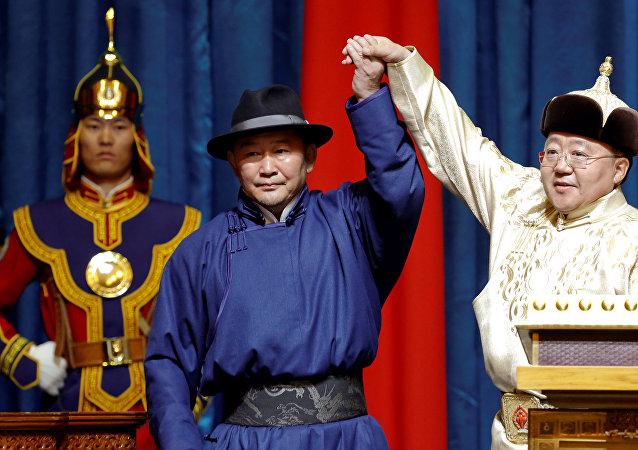 Jaltma Battulga, presidente electo de Mongolia