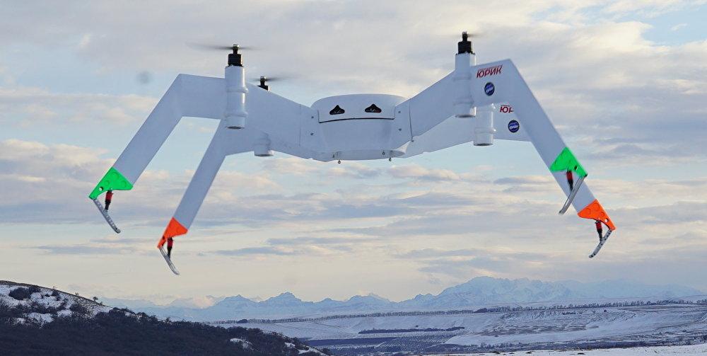 El dron de carga Yurik