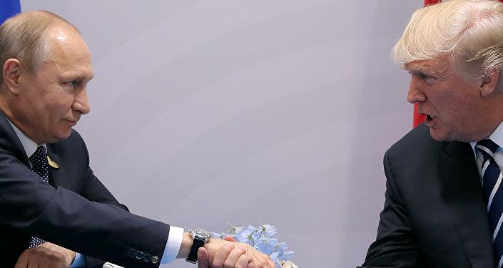 Vladímir Putin, presidente de Rusia, y Donald Trump, presidente de EEUU (archivo)