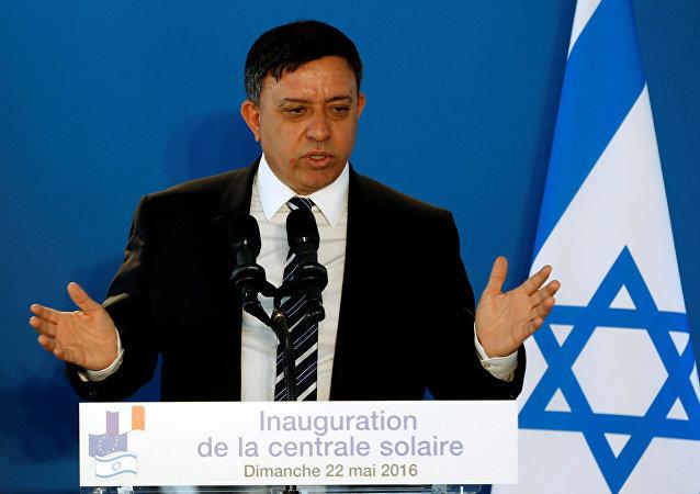 Avi Gabbay, secretario general del partido laborista de Israel