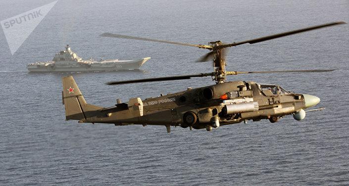 Helicóptero ruso Ka-52K