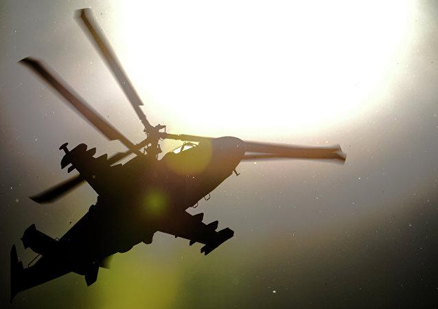 Helicóptero Ka-52 (archivo)