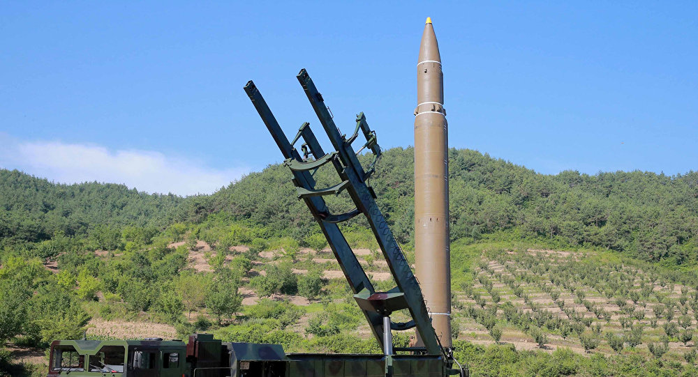 Un misil balístico intercontinental de Corea del Norte