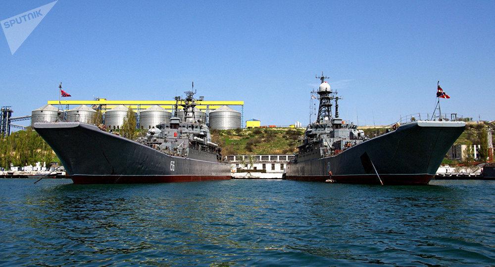 La base naval rusa de Sebastopol