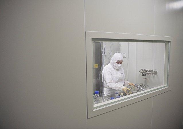 La producción de la vacuna contra ébola (imagen referencial)