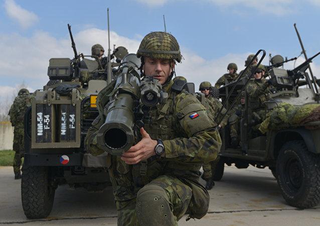 Las maniobras de la OTAN en la República Checa (archivo)
